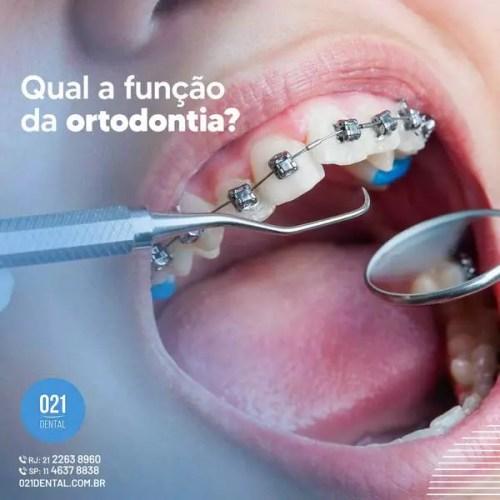 Qual a função da ortodontia?
