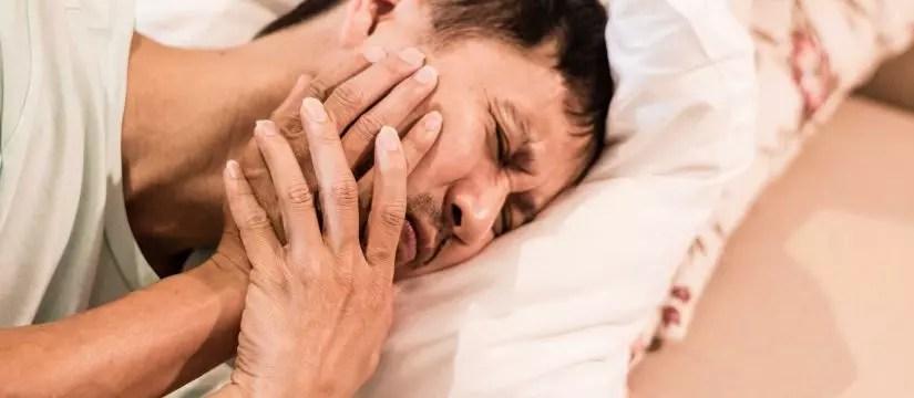Dor de dentes muito forte