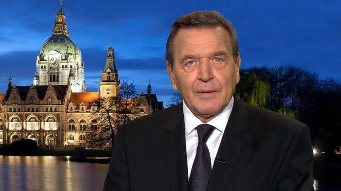 Alt-Kanzler Schröder gegen Verknüpfung von Nord Stream 2 mit Fall Nawalny