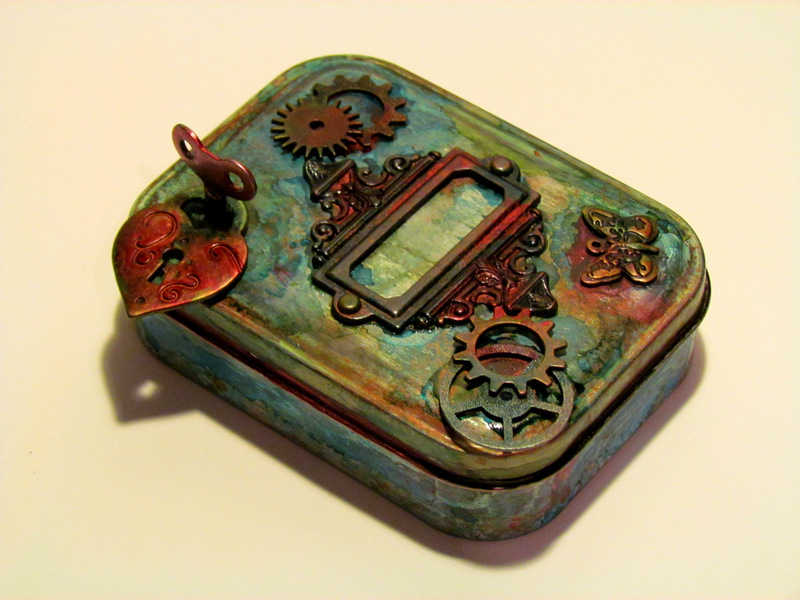 An Artist Journey Blog Archiv Altered Tin Box