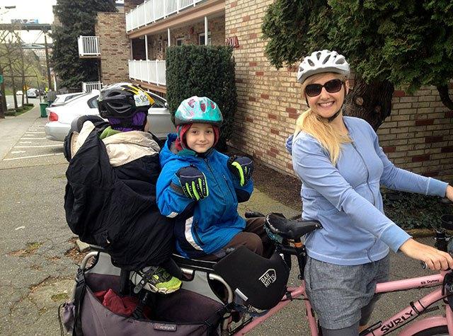 Madi Carlson Family Ride