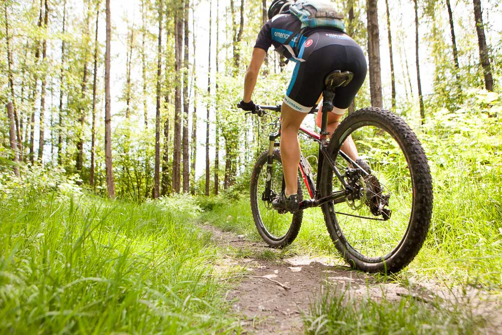 Northwest mountain biking trails