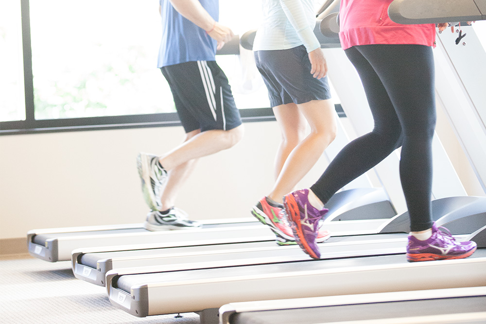 Fall in Love With the Treadmill-treadmill workout
