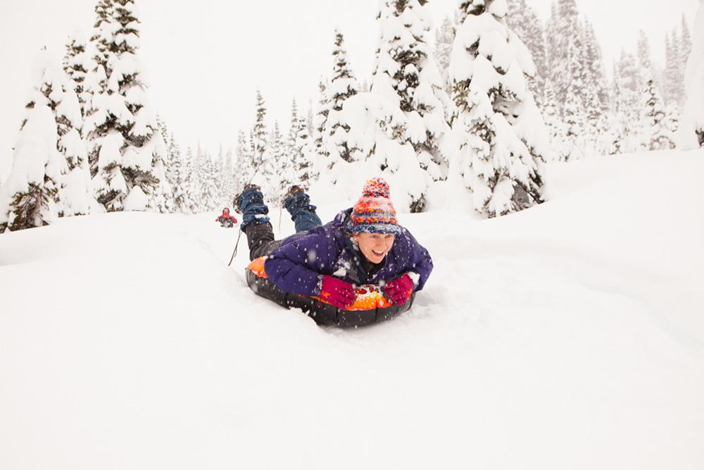 Northwest sledding
