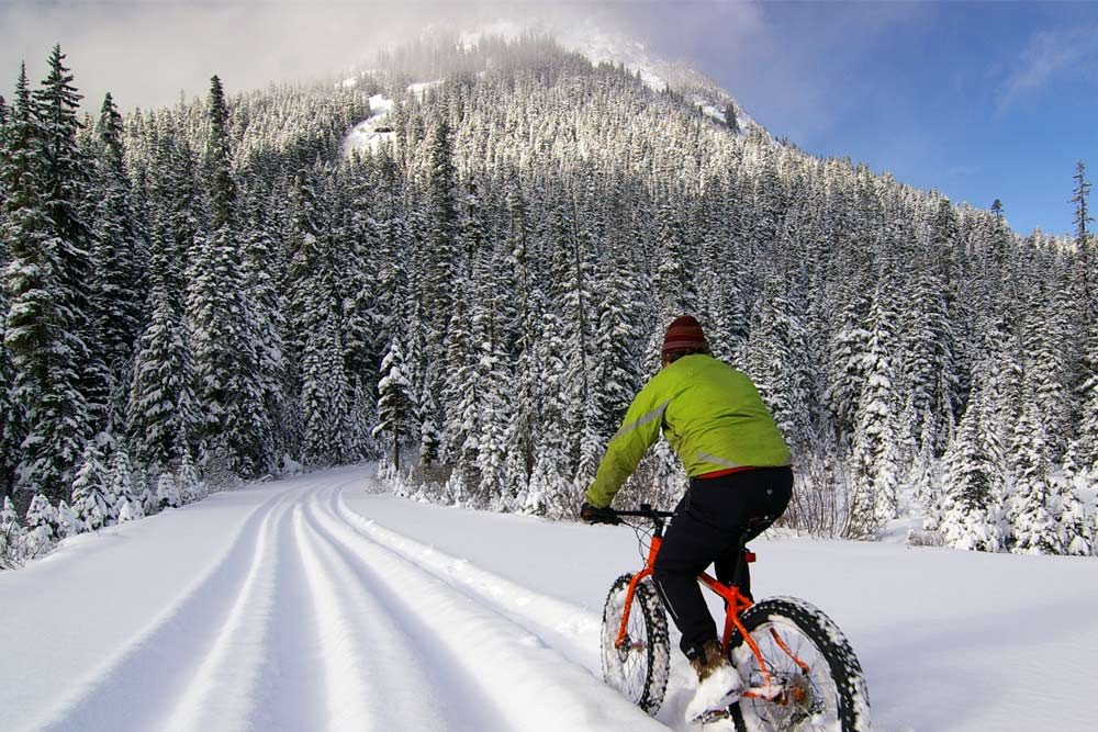 fat biking in winthrop