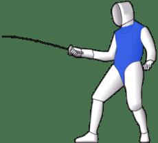 Foil Fencing Target