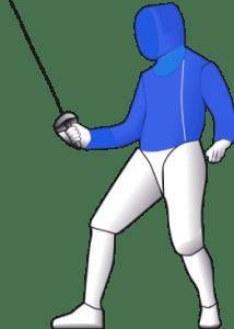 Saber Fencing Target
