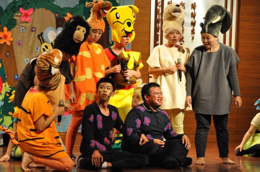 慈技兒童劇演出獲得滿堂彩