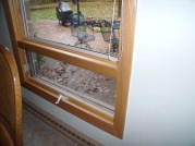 Inside of Awning Window