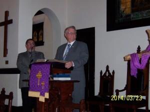 Preaching of Rev. Reinhold
