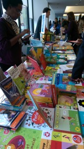 Books and mags on show