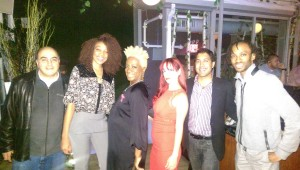 with Sammy, Donna from DMochelle and Yadira @ the Attic