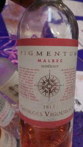 My first encounter with a Malbec rosé.