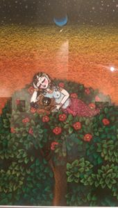 What dreams are - this one brought me back to one of the Indian paintings of my childhood