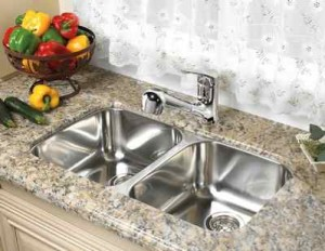 sink_thumb-Bevelled Edge Regina Sk Granite, Quartz, laminate