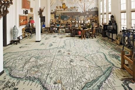 Map Carpet