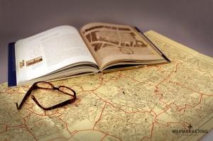 old Postcode Map