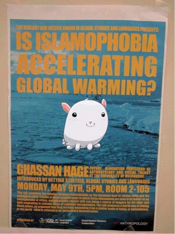 islamaphobia global warming
