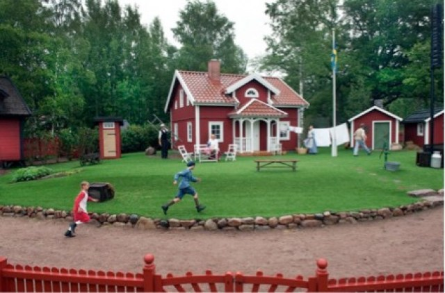 swedish red house