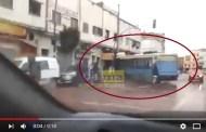 فيديو: طوييس نقل المدينة دخل في محلبة بسباتة قرب حمام الفن