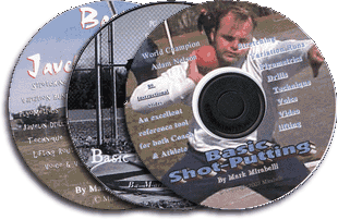 The Mark Mirabelli Throwing Series I - 3CDs