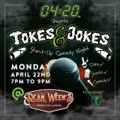 Tokes & Jokes: Stand-Up Comedy Night
