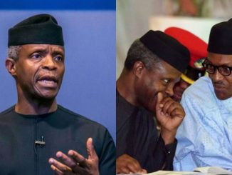 Osinbajo comments on photo memes of him and President Buhari discussing (Video)