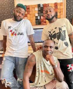 Skales And Davido Spotted Cooking Something Cool together - See Post