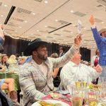 50Cent Bid A Bottle Of Wine For ₦66.5 Million In Texas But Lost (Photo)