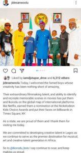 Sanwo-Olu Hosts Ikorodu Bois (Photos)