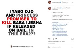 Iyabo Ojo and Princess promised to kill Baba Ijesha if released -Yomi Fabiyi alleges