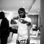 DMW Honcho Davido Steps Out In Style With His Security Men To Lagos Island Beach