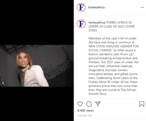 """Rema and Master KG  Nominated on 2021 Forbes Africa """"30 Under 30"""""""