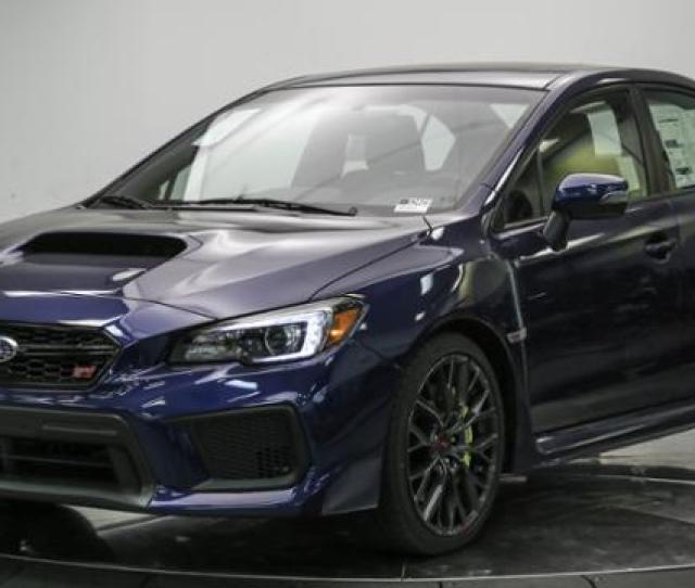 New 2018 Subaru Wrx Sti Limited Manual W Wing Spoiler