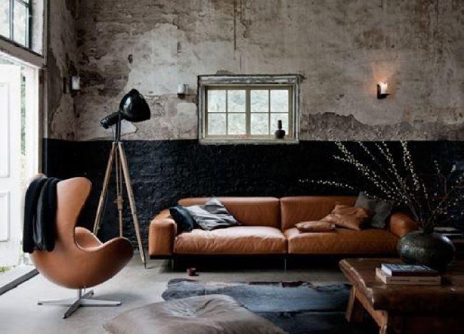 Interieur  Stoer en mannelijk wonen - Woonblog StijlvolStyling.com