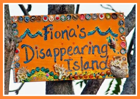 Fiona's Disappearing Island