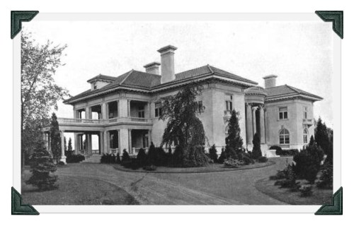 The Bedford estate (front view).