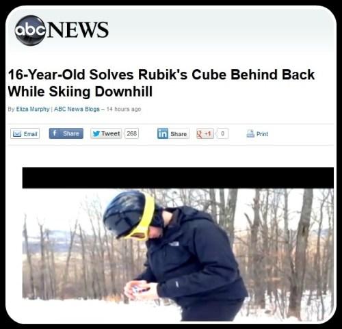 Noah Arthurs Rubiks Cube