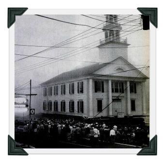 Saugatuck Congregational Church move