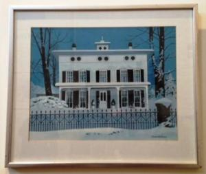 Wheeler House, by Stevan Dohans. It's now the site of the Westport Historical Society -- where Saturday's tour begins.