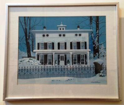 Wheeler House by Stevan Dohanos