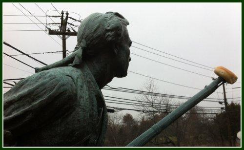 Westport Minuteman statue