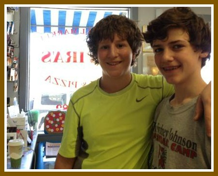 Bedford 8th graders Bryce Reiner and Billy Hutchison are big -- and loyal -- Elvira's customers.