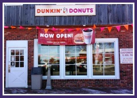 Dunkin Donuts,  Westport CT