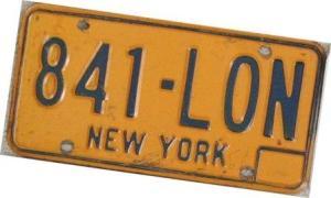 NY plate 2