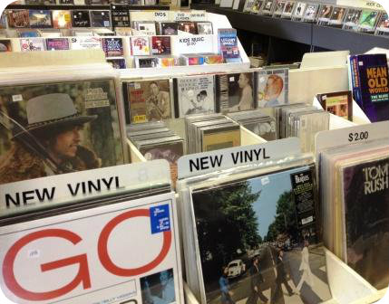 There is plenty of new vinyl -- and CDs, and random stuff, and musical knowledge -- at Sally's Place.