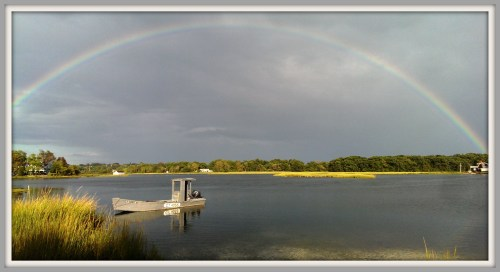 Sherwood Island Mill Pond Rainbow -- Emily Chen