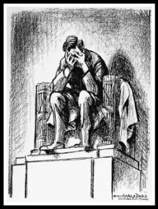 Bill Mauldin captured the grief of a nation.