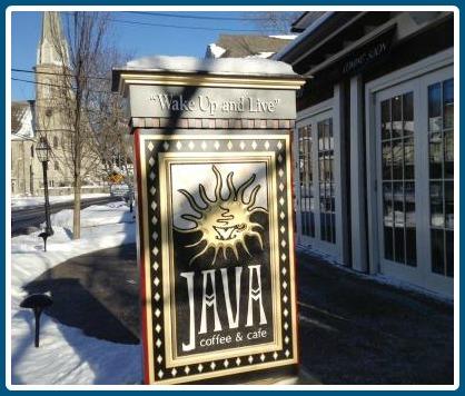 Java helped rejuvenate the Church Lane neighborhood.
