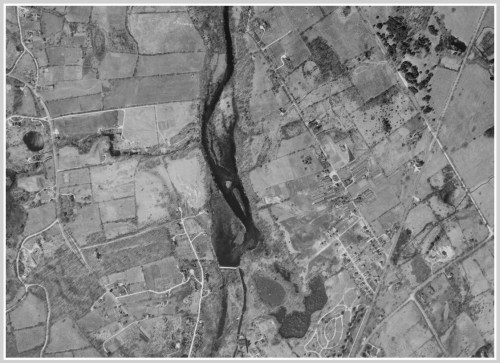 Westport - Easton Road 1934 UConn aerial survey